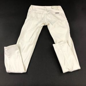 Armani Exchange Womens White Skinny Jeans 0
